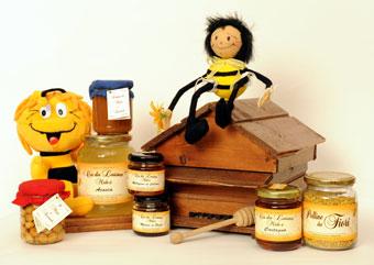 Produzione miele del Roero dell'azienda Ca da Laisna