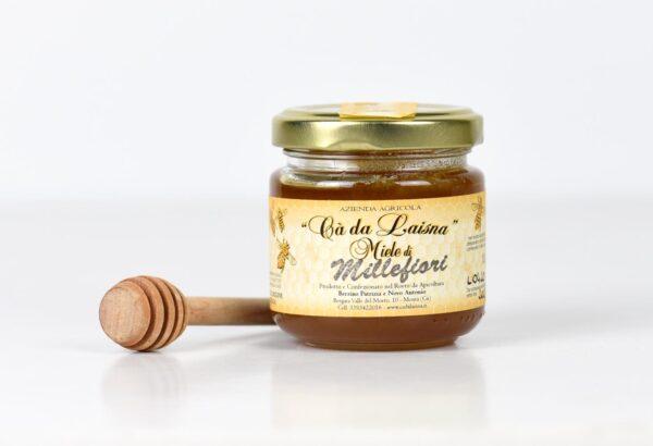 Miele di castagno del Piemonte - vaso da 100g