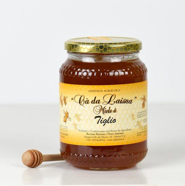 Miele di tiglio del Piemonte - vaso da 1000g