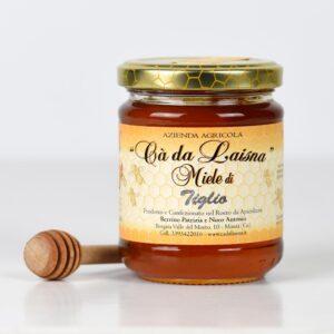 Miele di tiglio del Piemonte - vaso da 250g